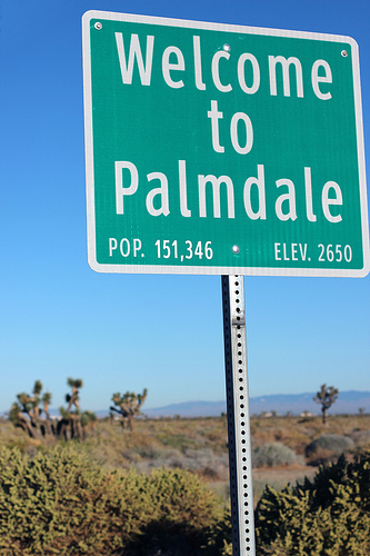 palmdale sign
